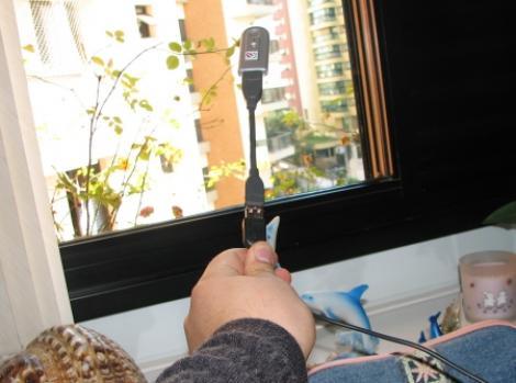 Antena wi-fi para cima