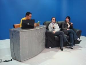 Gravação da entrevista para o programa E-farsas.